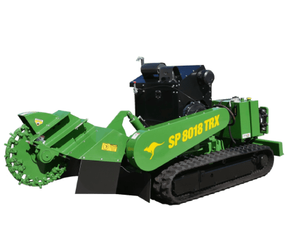 Energetic Tree Lopping stump grinder